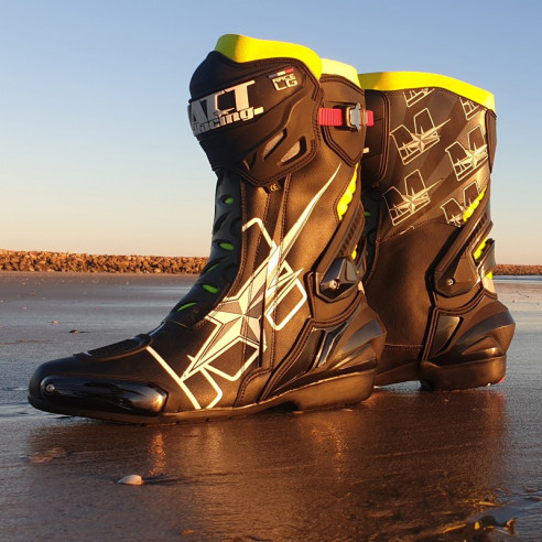 RACE LG motorcycle boots
