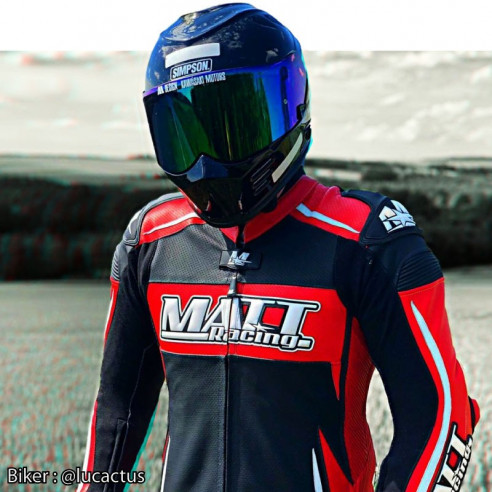 Motorcycle Leather Suit - Man - Model LEVEL ONE