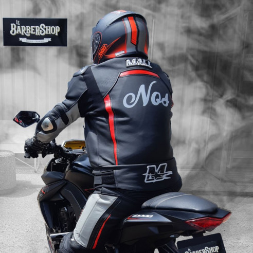Motorcycle leather suit - Man - Model ALL ROAD