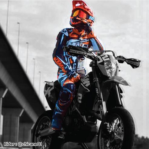 Combinaison cuir moto - Homme - Modèle ALL ROAD RACING
