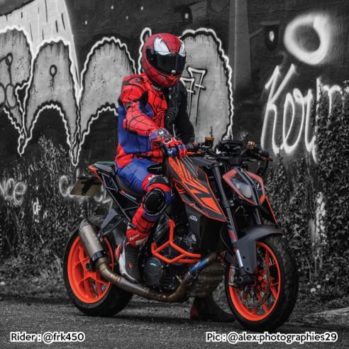 Motorcycle Leather Suit - Men - GP Model