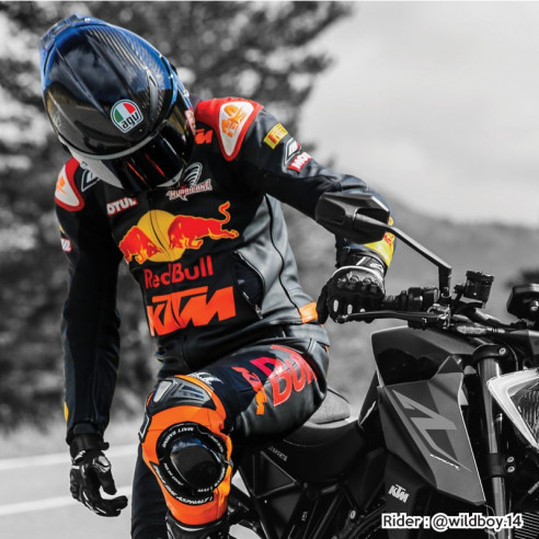 Motorcycle leather suit - Man - Model ALL ROAD GP