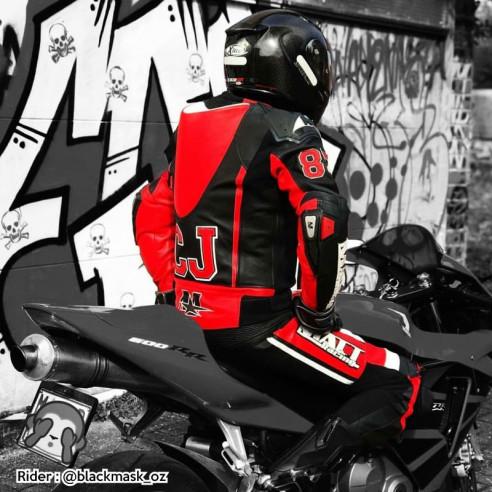 Combinaison cuir moto - Homme - Modèle ALL ROAD