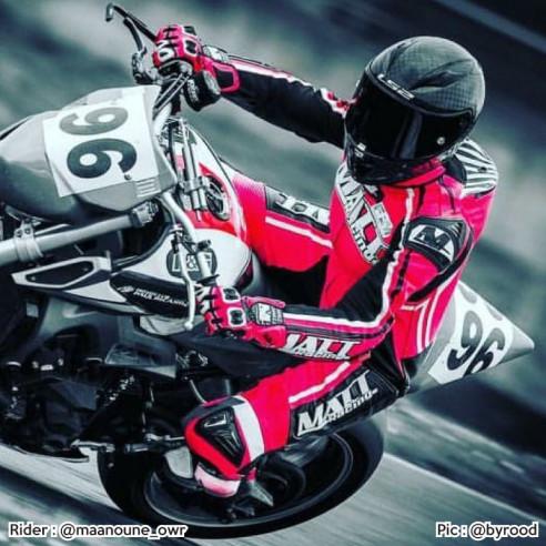 Combinaison Cuir moto - Femme - Modèle LEVEL ONE