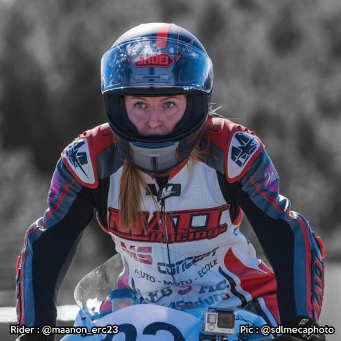 Combinaison Cuir moto - Femme - Modèle RACE ONE