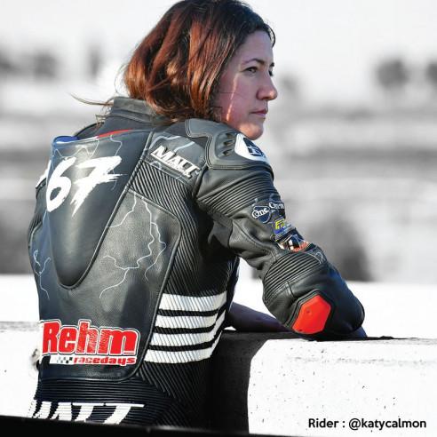 Combinaison cuir moto - Femme - Modèle GP