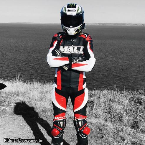 Combinaison cuir moto - Femme - Modèle ALL ROAD RACING